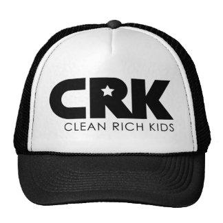 CRK - Limpie a los niños ricos Gorras De Camionero