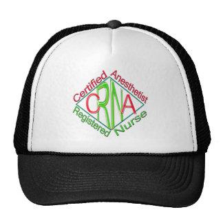 CRNA ACR RG Certified Registered Nurse Anesthetist Trucker Hat