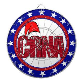 CRNA Certified Registered Nurse Anesthetist SANTA Dartboards