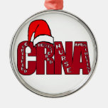 CRNA Certified Registered Nurse Anesthetist SANTA Christmas Tree Ornaments