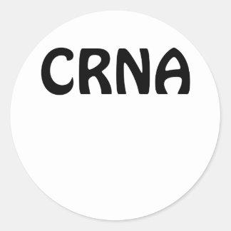 CRNA CLASSIC ROUND STICKER