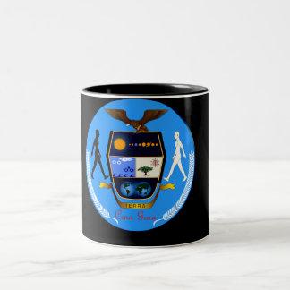 CRNA GORA (MONTENEGRO) EARTH COAT-OF-ARMS Two-Tone COFFEE MUG