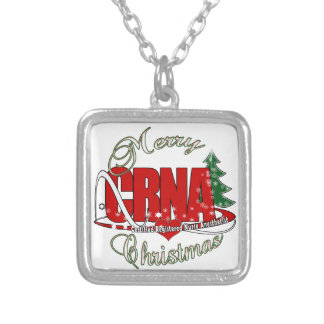 CRNA MERRY CHRISTMAS Nurse Anesthetist Jewelry
