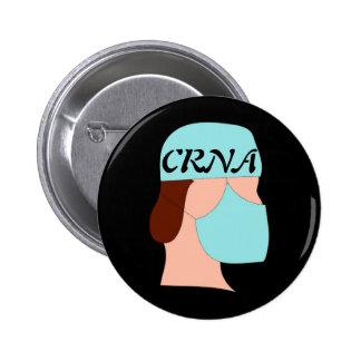 CRNA PIN REDONDO DE 2 PULGADAS