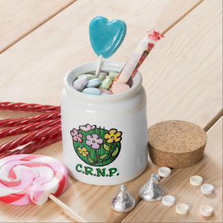 CRNP Nurse Blooms Candy Dish