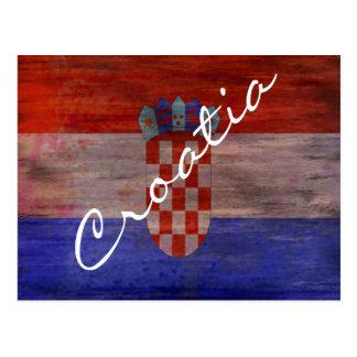 Croacia apenó la bandera postales