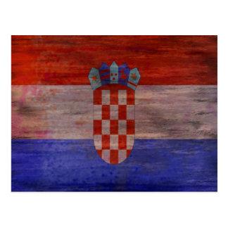 Croacia apenó la bandera postal