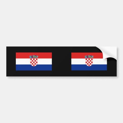 Croacia, Croacia Etiqueta De Parachoque