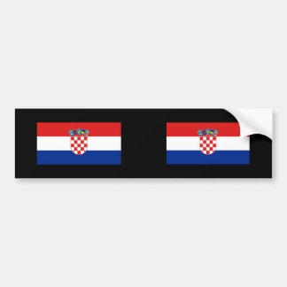 Croacia, Croacia Pegatina Para Auto