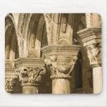 Croacia, Dalmacia, Dubrovnik. Arcos de piedra y Alfombrillas De Ratones