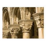 Croacia, Dalmacia, Dubrovnik. Arcos de piedra y Postal