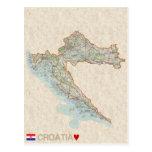 ♥ Croacia de las POSTALES del MAPA