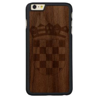 Croacia Funda De Nogal Carved® Para iPhone 6 Plus