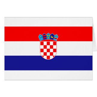Croacia Hrvatska Tarjeta De Felicitación