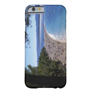 Croacia, isla de Brac, Bol, playa de oro del cabo Funda Para iPhone 6 Barely There