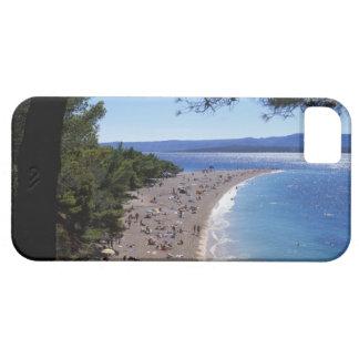 Croacia, isla de Brac, Bol, playa de oro del cabo iPhone 5 Fundas