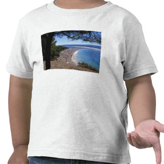 Croacia, isla de Brac, Bol, playa de oro del cabo Camiseta