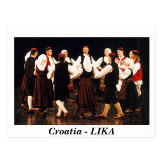 Croacia - LIKA Postales