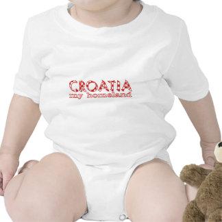 Croacia mi patria trajes de bebé