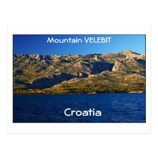 Croacia - montaña Velebit Tarjetas Postales