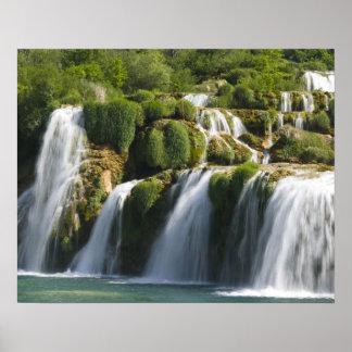 Croacia región de Sibenik-Knin NACIONAL de KRKA Impresiones