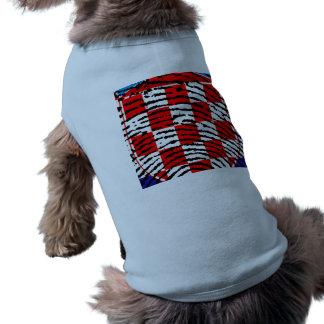 Croacia Camiseta Sin Mangas Para Perro