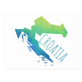 Croacia Tarjeta Postal