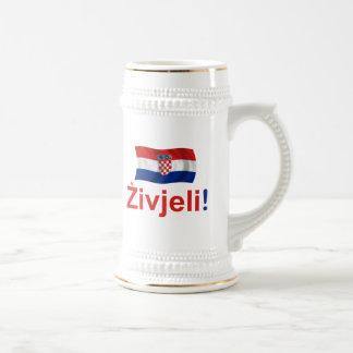 ¡Croacia Zivjeli Alegrías Tazas De Café