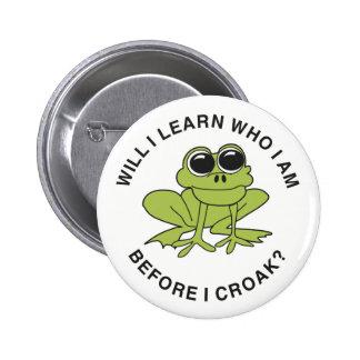 Croak 2 Inch Round Button