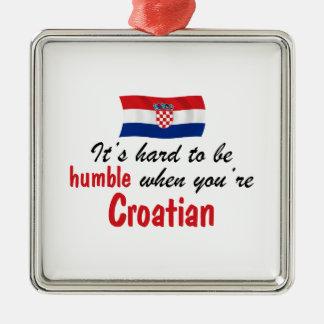 Croata humilde ornamentos de reyes magos