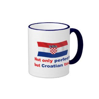Croata perfecto tazas de café