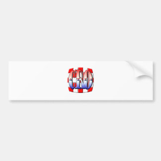 CROATIA 001 BUMPER STICKER