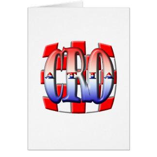 CROATIA 001 CARD