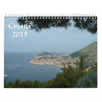 Croatia 2015 calendar