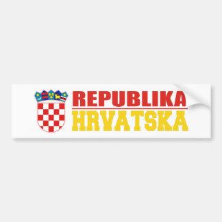 Croatia 2 bumper sticker