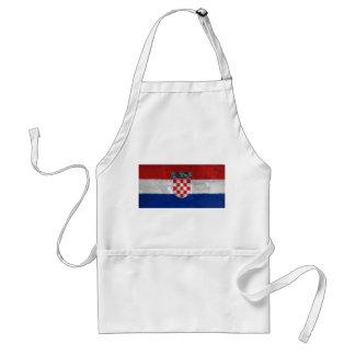 Croatia Adult Apron