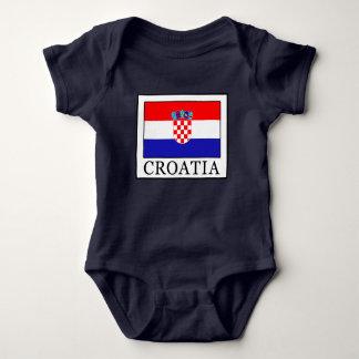 Croatia Baby Bodysuit