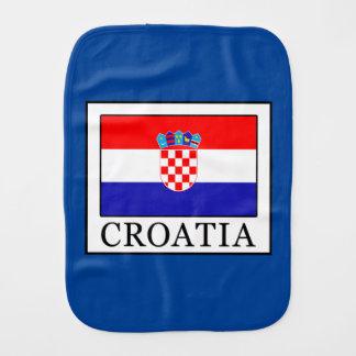 Croatia Baby Burp Cloth