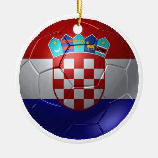 Croatia ball ceramic ornament