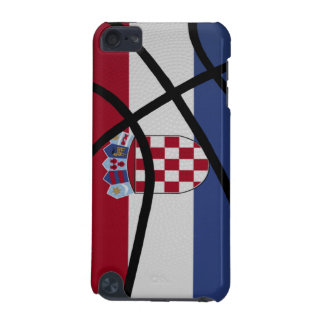 Croatia Basketball iPod Touch Case