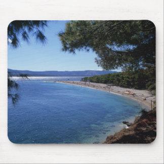 Croatia, Brac Island, Bol, Golden Cape Beach 2 Mouse Pad