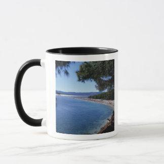 Croatia, Brac Island, Bol, Golden Cape Beach 2 Mug