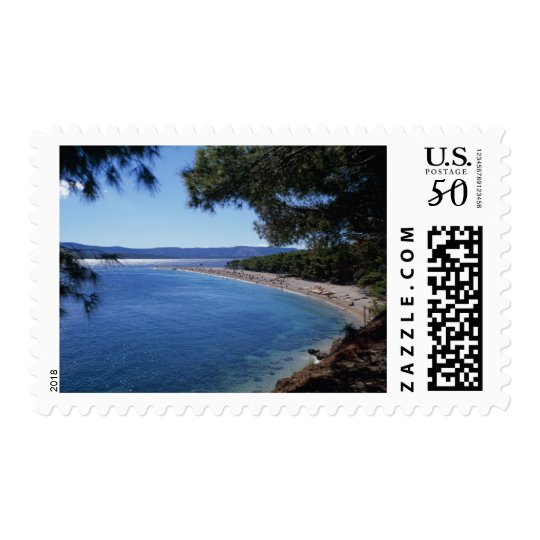 Croatia, Brac Island, Bol, Golden Cape Beach 2 Postage