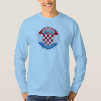 Croatia Bubble Flag T-Shirt