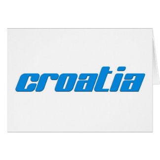 CROATIA CARD