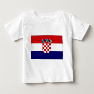 Croatia Civil Ensign Baby T-Shirt