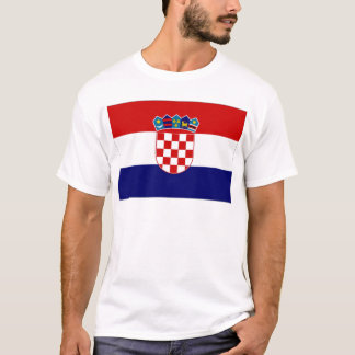 Croatia Civil Ensign T-Shirt