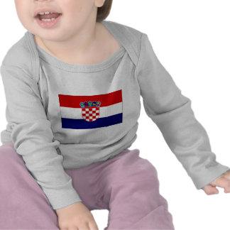Croatia Civil Ensign Tees