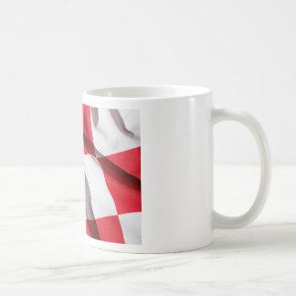 CROATIA CLASSIC WHITE COFFEE MUG