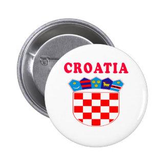 Croatia Coat Of Arms Designs Pin